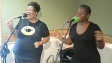 Saun and Starr perform for Weekend Wogan