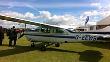 Plane for sale at Sywell, Northamptonshire.
