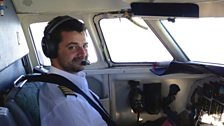 Ferry Pilot Joe Drury