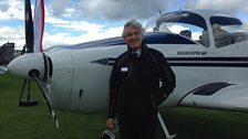 Ferry Pilot Dave Henderson