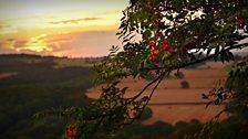 Sunset over Blackhill, Consett