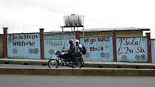 Ebola billboards