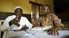 Ebola Burial Arrangement