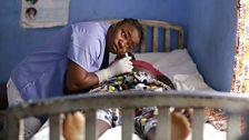 Ebola Nurse Margaret Sivali
