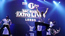 Fekky dancers at 1Xtra Live in Leeds