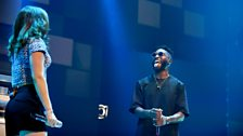 Tinie Tempah and Katy B back together at 1Xtra Live in Leeds