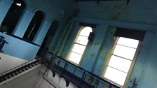 Inside the pump house everything is in Titanic proportions