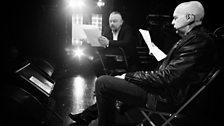 Nicolai Khalezin rehearses with Neil Tennant