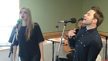 Shane Filan and Nadine Coyle perform their duet 'I Could Be'