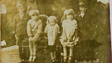 Alice with four of her five siblings – she is the blond child in the middle