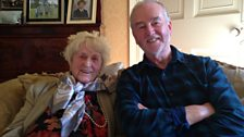 Alice in fine form after sharing her memories with David Almond