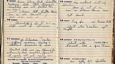 Dick's pocket diary
