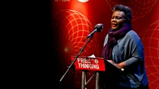 US poet, Claudia Rankine delivers the Free Thinking lecture