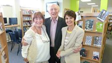 Lord Kinnock with Marion Evans and Sian Williams