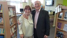 Marion Evans with Lord Kinnock