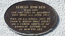 Idris Davies plaque
