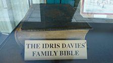 Idris Davies Family Bible