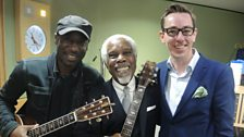 Billy Ocean poses with Ryan Tubridy