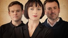 Florent, Lisa and Quenu (James Anthony Pearson, Jodie McNee and Graeme Hawley)