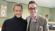 Alexander Armstrong joins Ryan Tubridy for a quick snap