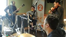 Scouting for Girls sing live on Weekend Wogan
