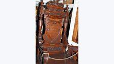 Cadair Eisteddfod Genedlaethol Llandudno 1900