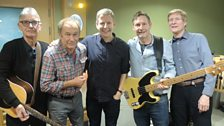 The Manfreds pose with Paddy