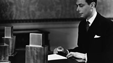 King George VI broadcasting to The Empire in 1937