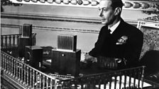 King George VI broadcasting to The Empire in 1944