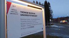 Outside Tromsø Museum