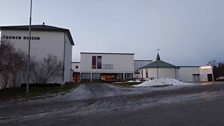 Outside the Tromsø Museum