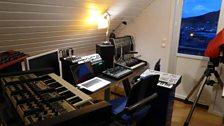 In Geir Jenssen's studio (Biosphere)