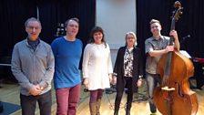 A rehearsal with folk group Gulløye