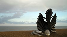 Scallop at Aldeburgh Beach by Maggi Hambling