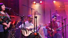 Namlo bringing Nepal to the world on the BBC Radio Theatre stage
