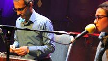 Iranian artists Mehdi and Samin on the BBC Radio Theatre stage