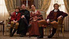 Petya Rostov, Count & Countess Rostov & Nikolai Rostov