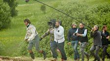Paul Dano as Pierre Bezukhov & George Steel (director of photography)