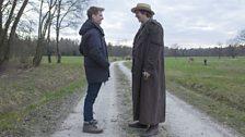 Paul Dano as Pierre Bezukhov & Tom Harper (director)