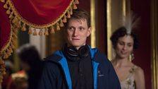 Tom Harper (director) & Tuppence Middleton as Helene Kuragin