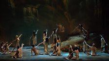 A scene from Tannhäuser from the Metropolitan Opera, New York