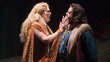 Venus (Michelle DeYoung) & Tannhäuser (Johan Botha) in Tannhäuser from the Metropolitan Opera, New York