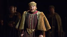 Günther Groissböck as Hermann, the Landgraf of Thuringia in Tannhäuser from the Metropolitan Opera, New York