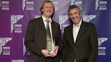 David Thomas and Julian Simpson won Best Sound for 'Fugue State'