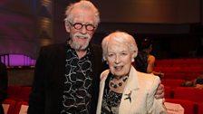 John Hurt wins an Outstanding Contribution Award and June Whitfield wins a Lifetime Achievement Award