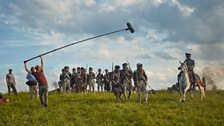 Filming on location in Lithuania