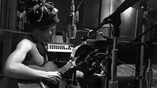 Valerie June recording for Global Beats
