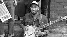 Whiskey Shivers' banjo man James Bookert