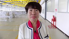 Candy Ma, CEO of C&H Garments Factory