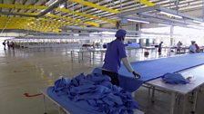 The C&H Garments shed is 150m long, and is one of 22 sheds at the Bole Lemi Park